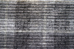 Black and white velvet. Fabric Royalty Free Stock Images