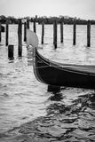 Black and white Venice Royalty Free Stock Image