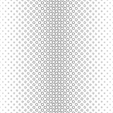 Black and white vertical square pattern - geometric abstract vector background graphic from angular squares. Black and white vertical square pattern design stock illustration