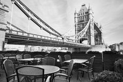 Black and white view of London Stock Photos
