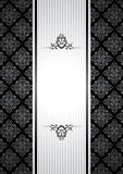 Black and white vintage background Royalty Free Stock Photos