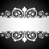 Black and white vintage background Royalty Free Stock Photo