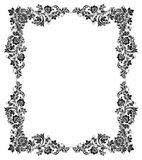 Black and white vintage frame Stock Photos