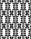 Black on white wallpaper Royalty Free Stock Photos