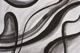 Black and white watercolor background Royalty Free Stock Photography