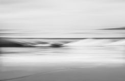 Black and White Wave Royalty Free Stock Photos