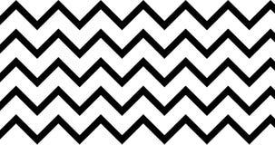 black and white wave pattern animate backward 4k footage clip