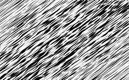 Black and White Wave Stripe Optical Abstract Background Royalty Free Stock Photography