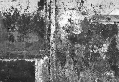 Black and white weathered metal wall texture. Background and texture Royalty Free Stock Image