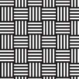 Black and white weave pattern background Stock Photography