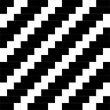 Black and white weave pattern background vector. Rectangle and square pattern background, geometric pattern background Royalty Free Stock Photos