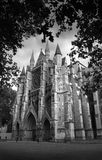 Black&white Westminster. Westminster Abbey in black & white Stock Photography