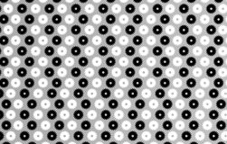 Black and white wheels on grey background Stock Image