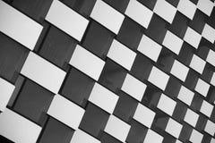 Black and white windows. Royalty Free Stock Photos