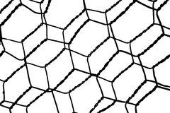 Black and White Wire Stock Image