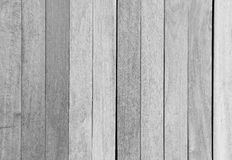 Black and white Wood plank  background Stock Images