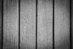 Black and White Wood Texture for Background. Stock Image