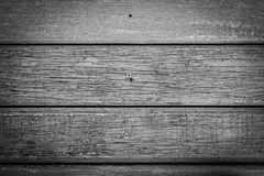 Black and White Wood Texture for Background. Stock Photography