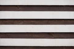 Black and white wood texture. striped background board Royalty Free Stock Image