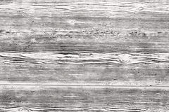 Black-and-white wooden plank texture Royalty Free Stock Photography