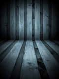 Black and White Wooden Room Stock Images