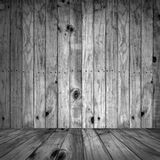 Black and white of wooden textures background. Stock Photography