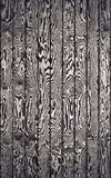 Black and white wooden wall Royalty Free Stock Image