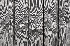 Black and white wooden wall Royalty Free Stock Photo