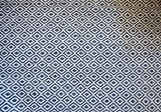 Black and white wool rug Royalty Free Stock Photos