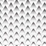 Black and white zig zag line texture Stock Image