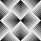 Black and white zigzag pattern Stock Images