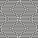 Black and white zigzag pattern Royalty Free Stock Image