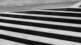 Black and whtie staircase Royalty Free Stock Photos