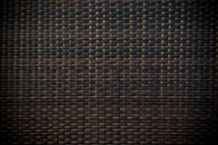 Black wicker background Royalty Free Stock Photography