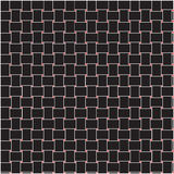 Black wicker blackground with red dotted Stock Image