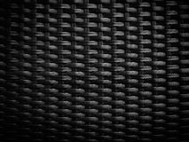 Black wicker pattern Royalty Free Stock Images
