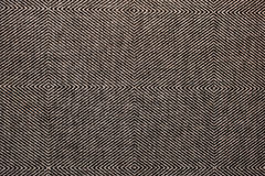 Black wicker texture as background Stock Photo