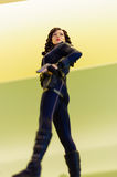Black Widow Natalia Romanova Figurine Royalty Free Stock Photos