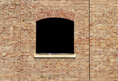 Black Window Stock Images