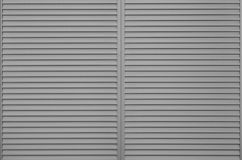 Black window slide shutter Royalty Free Stock Image