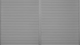 Black window slide shutter Stock Photos