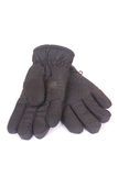 Black winter gloves Royalty Free Stock Image