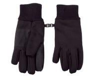 Black winter gloves Stock Image