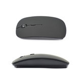 Black wireless computer mouse isolated Stock Photos