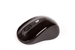 Black Wireless Mouse Royalty Free Stock Photos