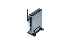 Black Wireless Router Royalty Free Stock Images