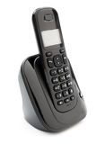 Black wireless telephone Royalty Free Stock Photo