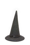 Black witch hat for Halloween Stock Photos