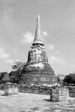 Black and withe sharp pagoda Royalty Free Stock Photography