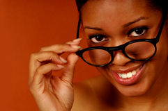 Black Woman Stock Photo